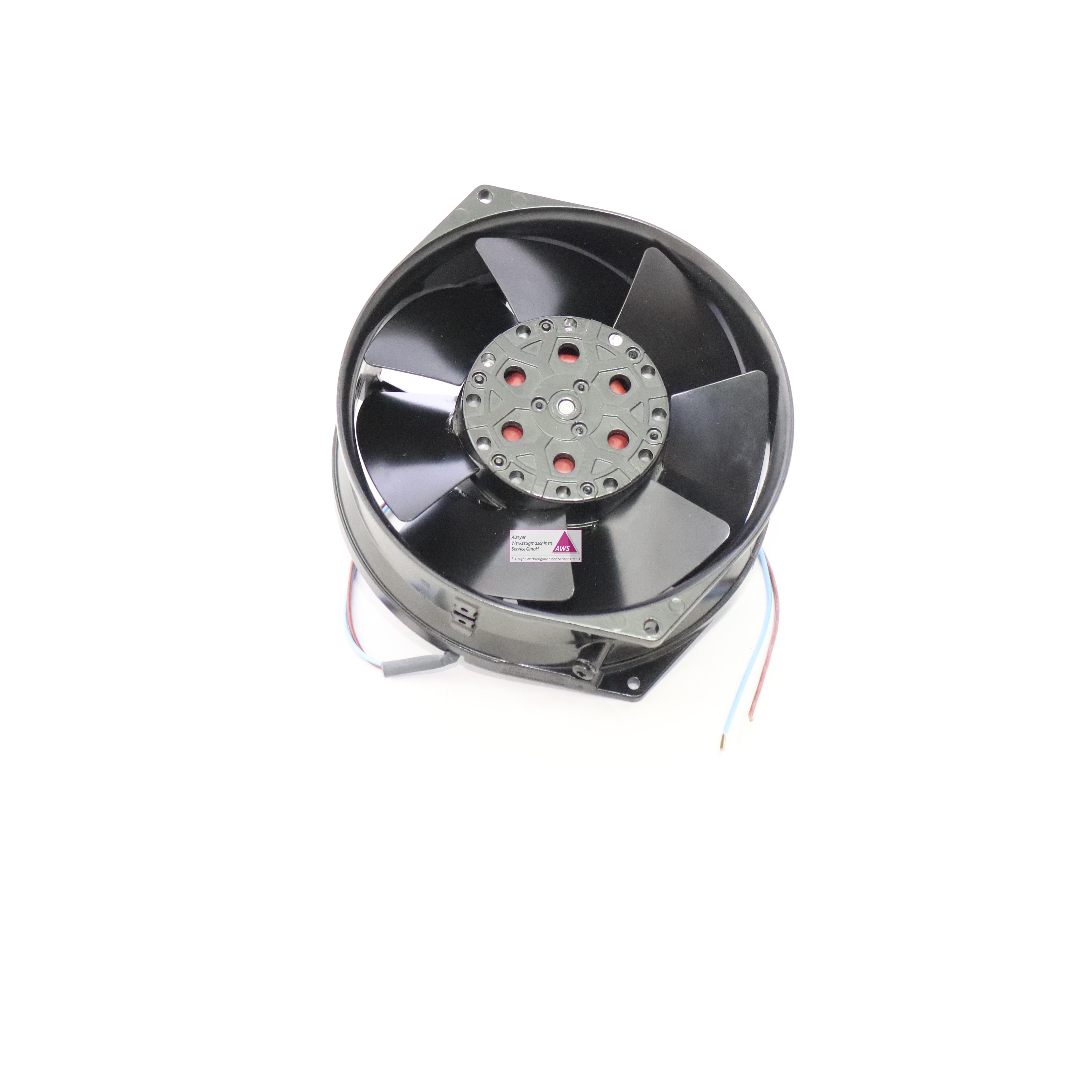 Ventilator Rund Ø150x55mm dick (115VAC)