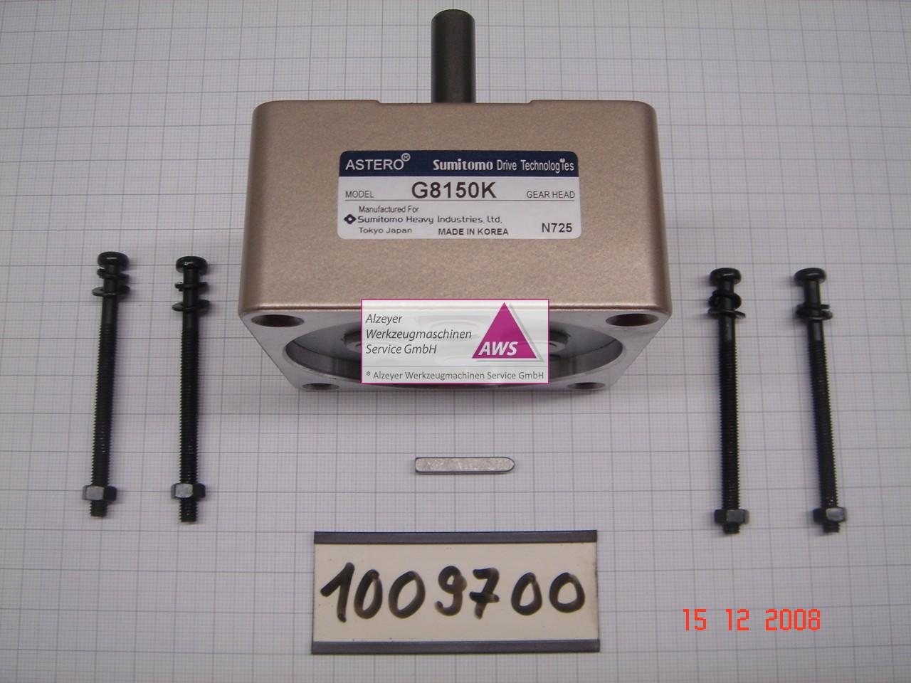 Tooleyegetriebe schräg verzahnt 4GN150K