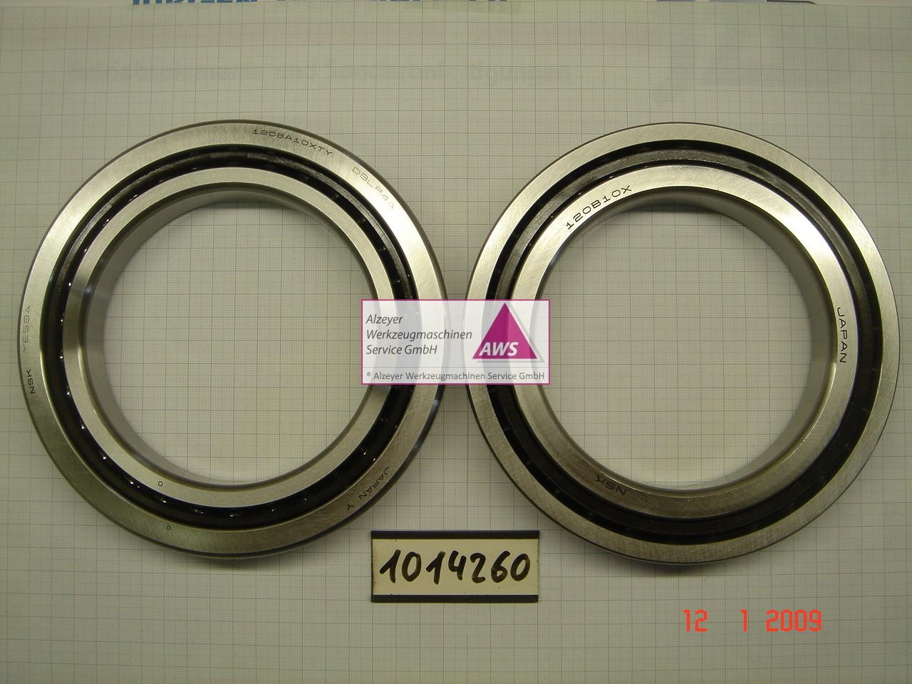 Schrägschulterlager 120BA10XTY DB L P4A