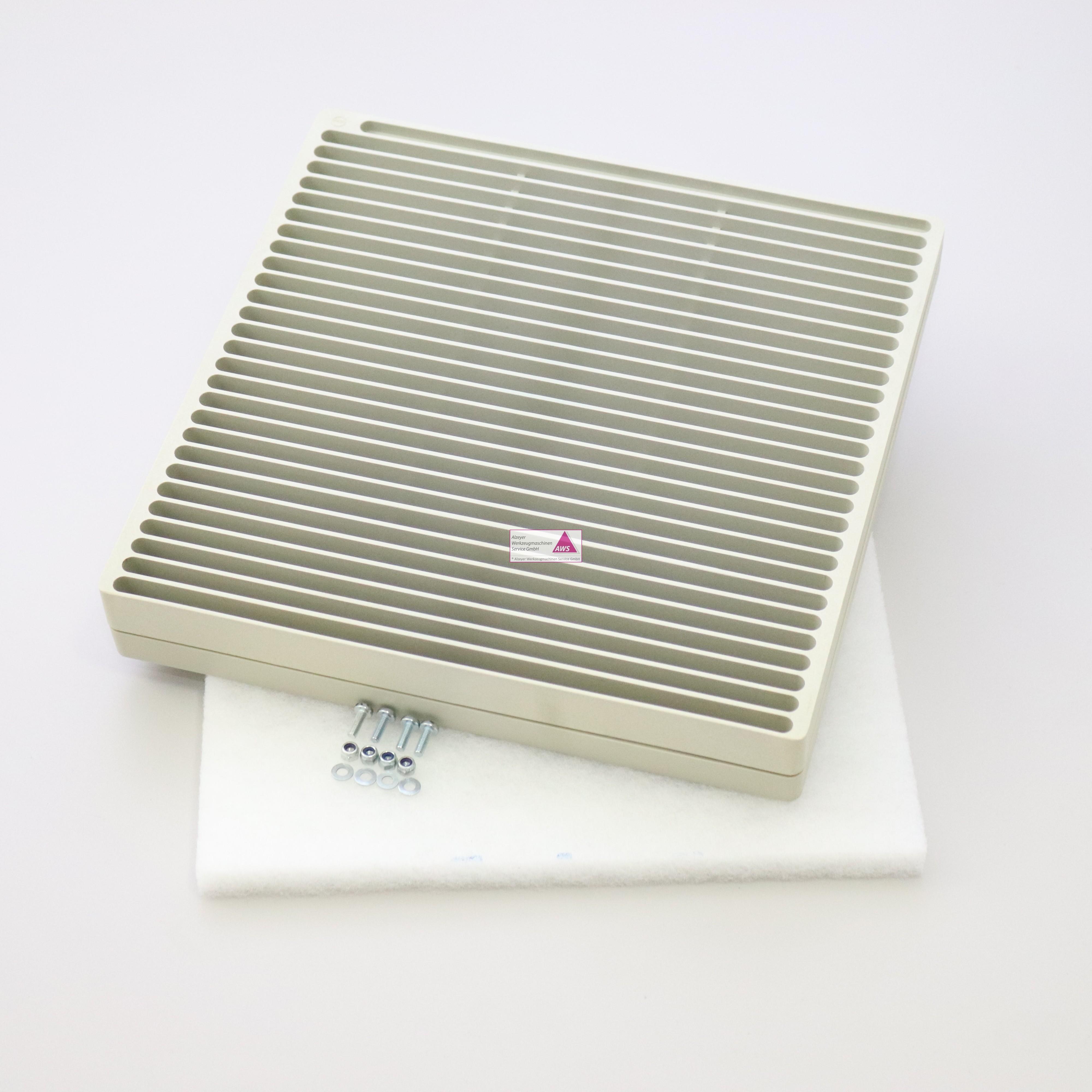 Filtergehäuse 285x285mm