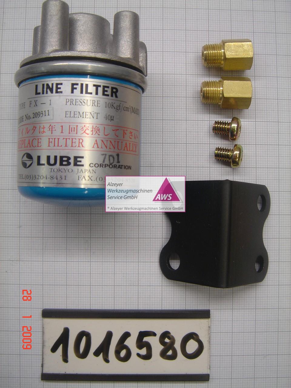 FX1-6 Filter ,M10, komplett