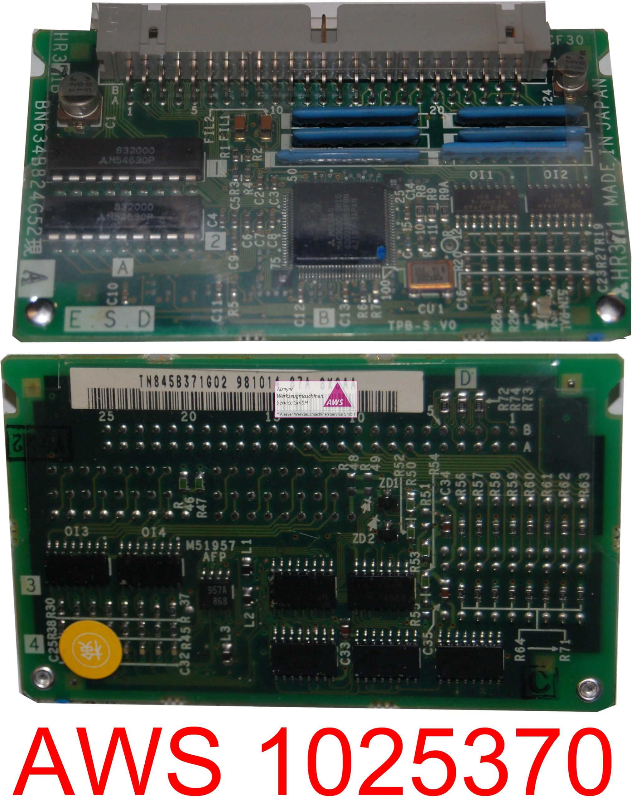 Busplatine PCB HR371 kleine Aufsteckplatine
