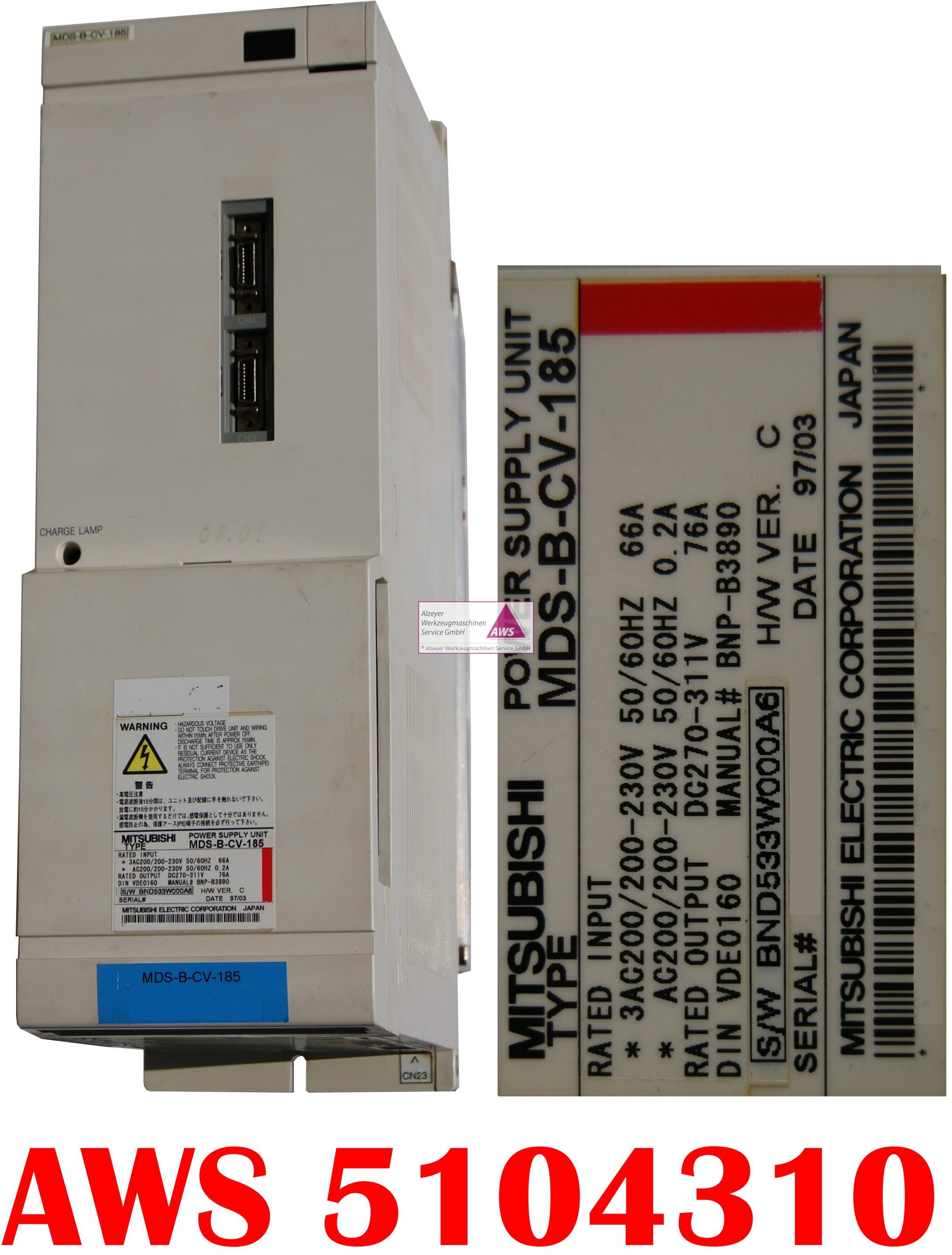 Netzteil MEC MDS-A-CV-185