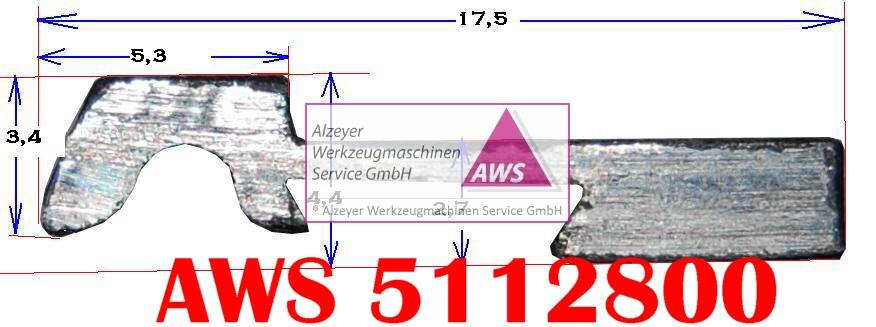 Abstreifer E3  Blech 1Meter