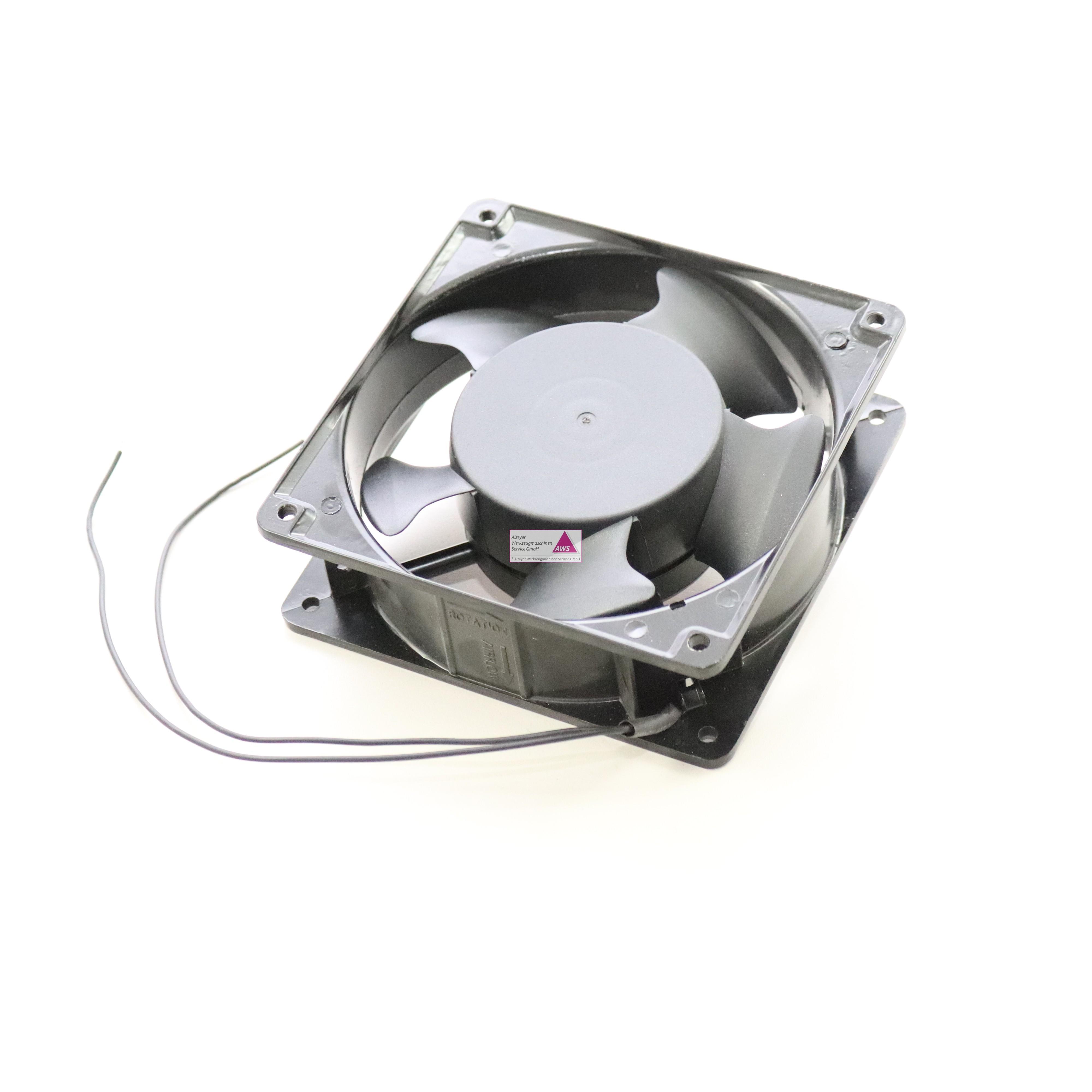 Ventilator Viereckig 119x119x38mm dick (400VAC)