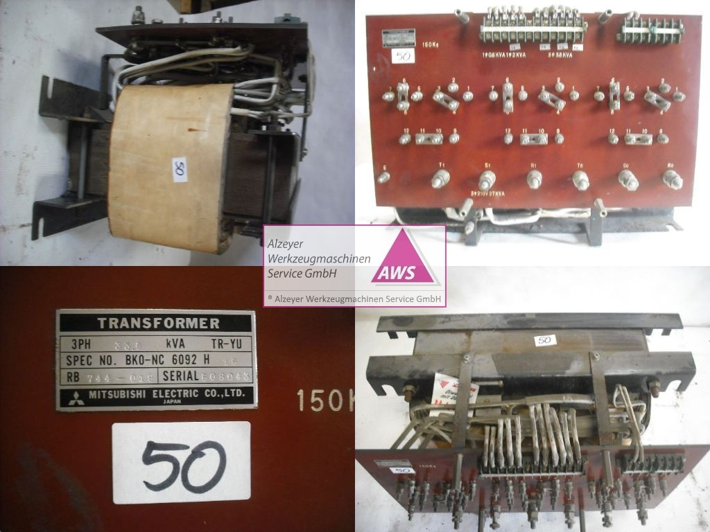 Trafo  Mitsubishi prim.: 200-480V Sek.:210,149,100,115V