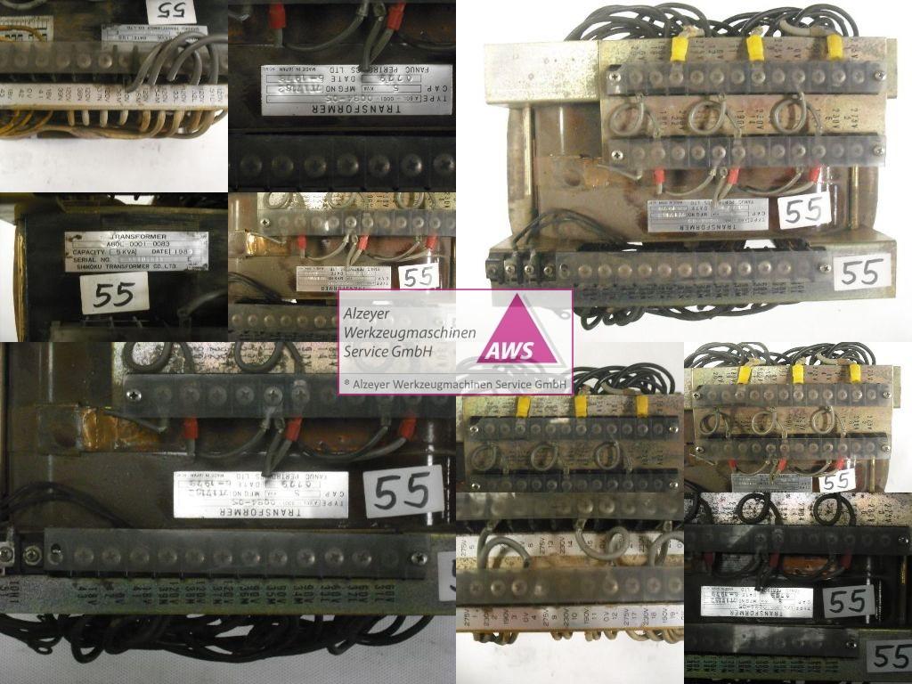 Trafo  FANUC prim.:3x190-275V Sek.3x120 18-0-18V