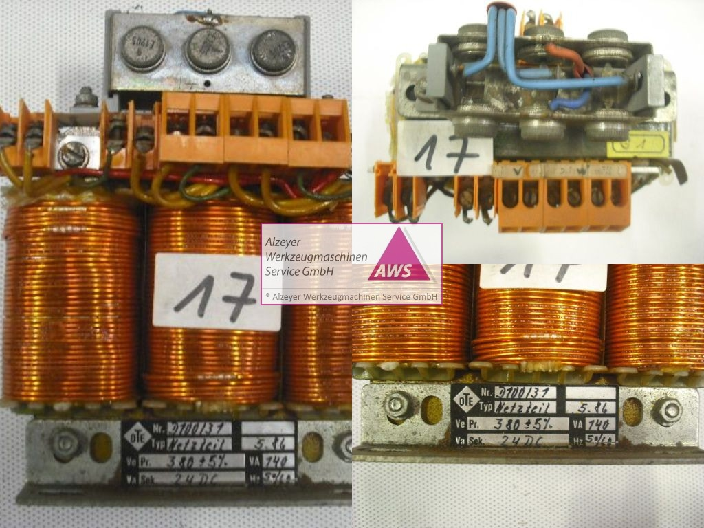 Netzteil 24V/ 5A (prim.: 3 x 380VAC)