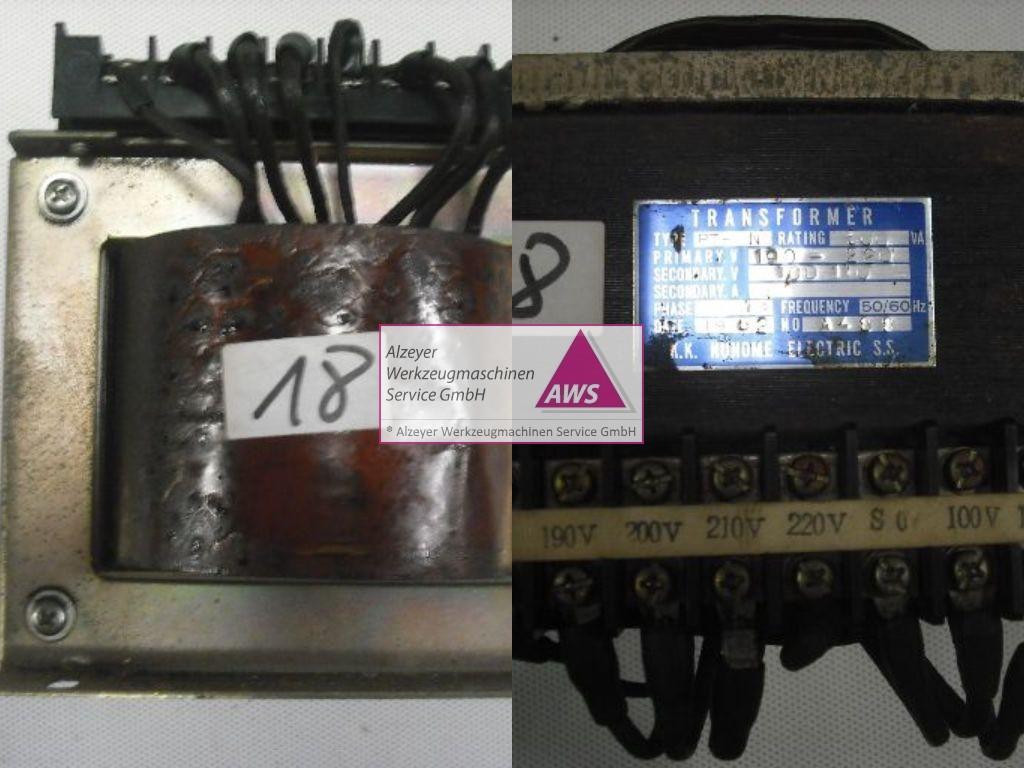 Trafo  prim.: 190-220V Sek.: 100-110V