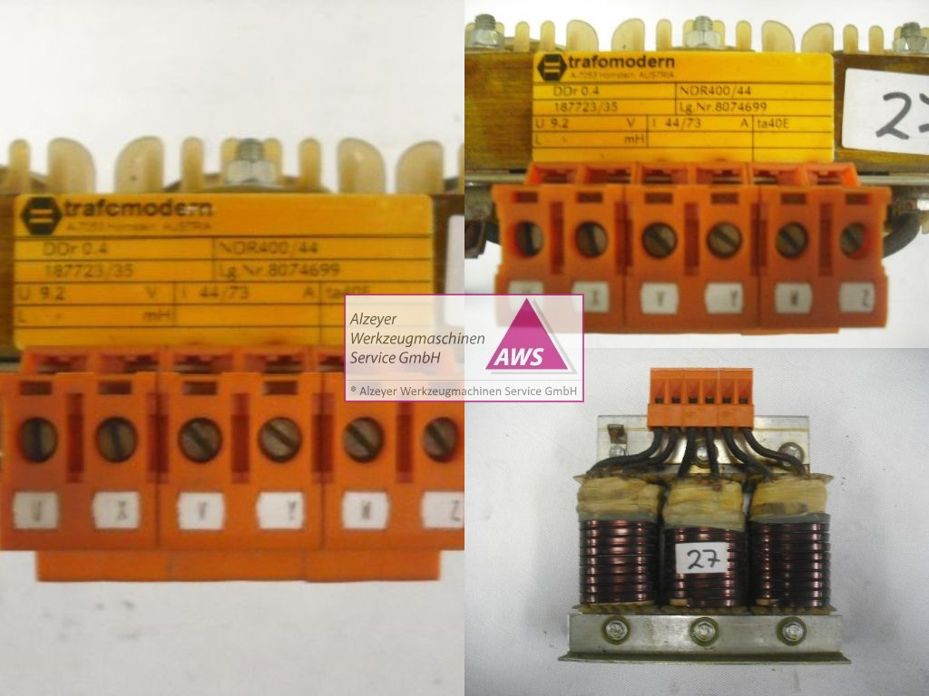 Drosselspule 3-phasig Ddr 0.4  NDR400/44