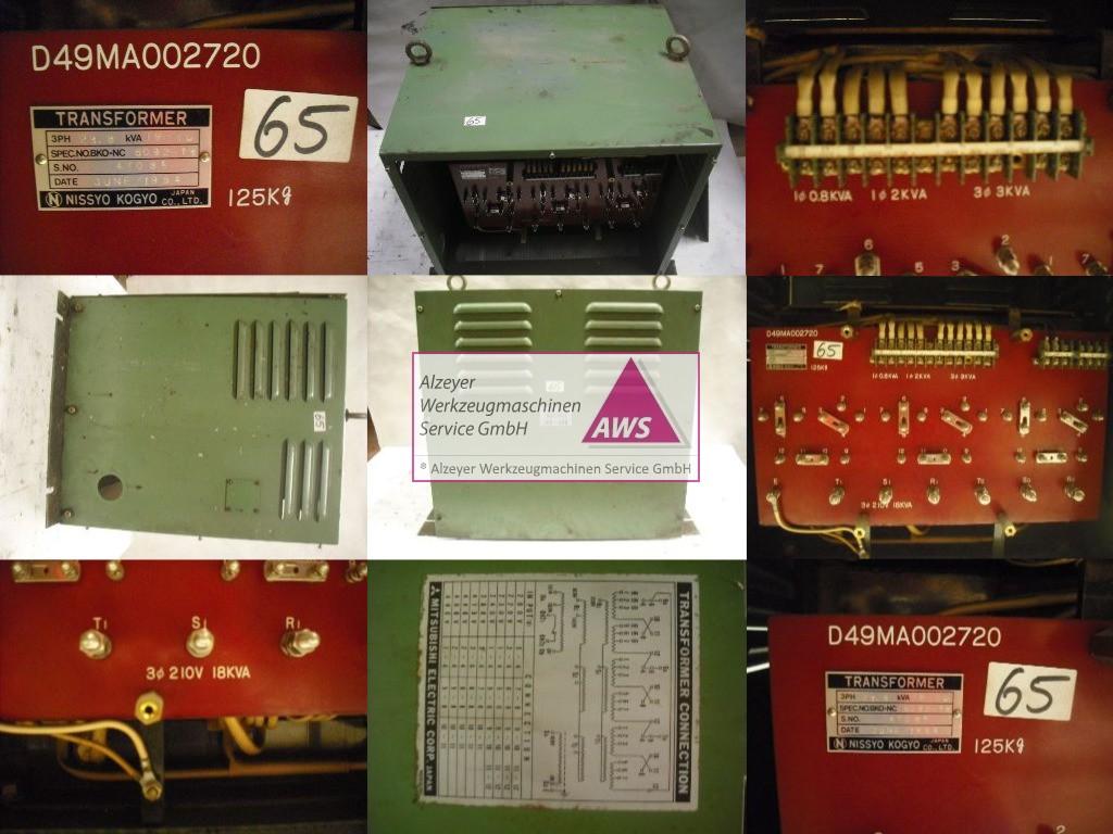 Trafo  Mitsubishi prim.: 200-480V Sek.:3x200,3x200,100