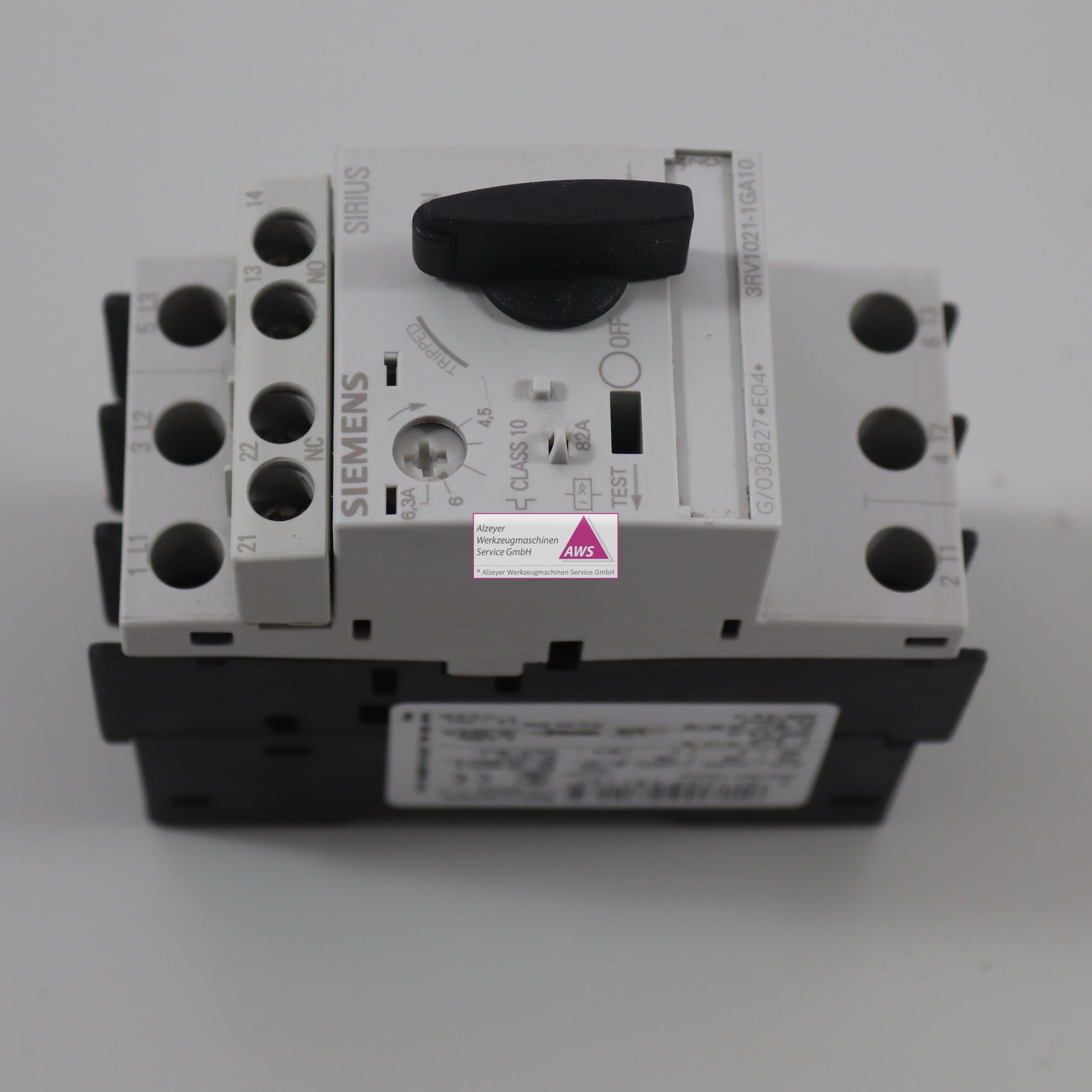 Leistungsschalter Siemens SIRIUS 3RV 1021-1GA10
