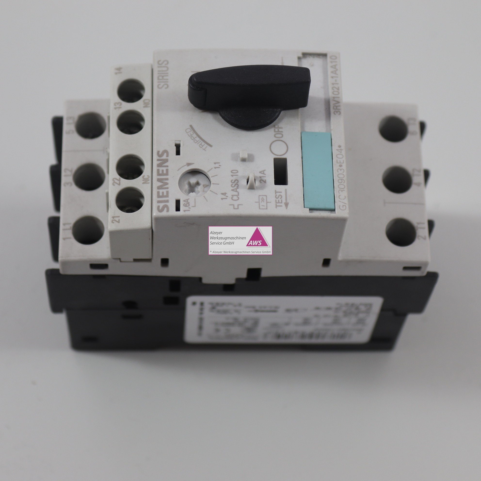 Leistungsschalter Siemens SIRIUS 3RV 1021-1AA10