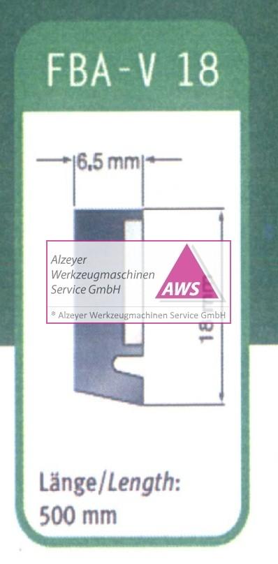 Abstreifer FBA-V 18 500mm