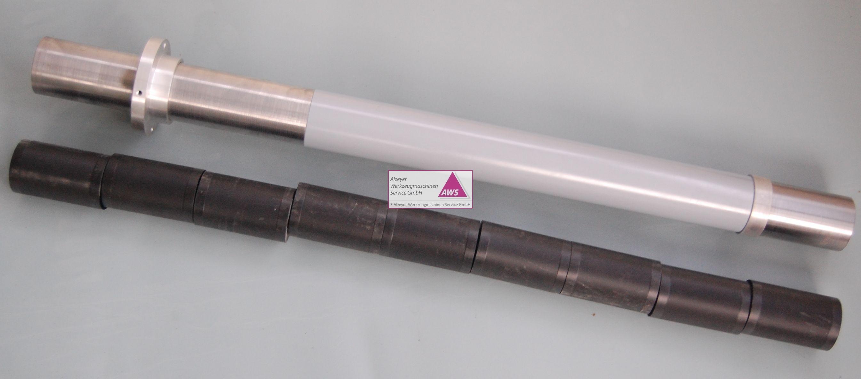 Red.- Rohr 58 x >=62. 500mm kompl.