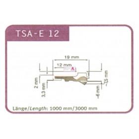 Stahlträger für Abstreifer TSA - E12  1000mm lang