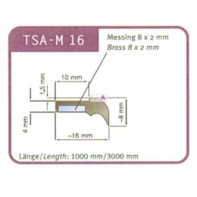 Abstreifergummi SW 16 für TSA - M 16