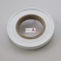 Abstreiferband weiß. 35mm breit
