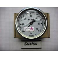 Manometer 0-60 Bar Anschluss hinten