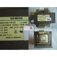 Trafo  SIEMENS prim.: 380 - 420V  sek.: 0 - 230V
