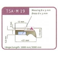 Abstreifergummi SW 19 für TSA - M 19