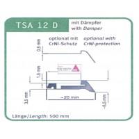 Abdeckblech TSA - 12 1000mm Länge
